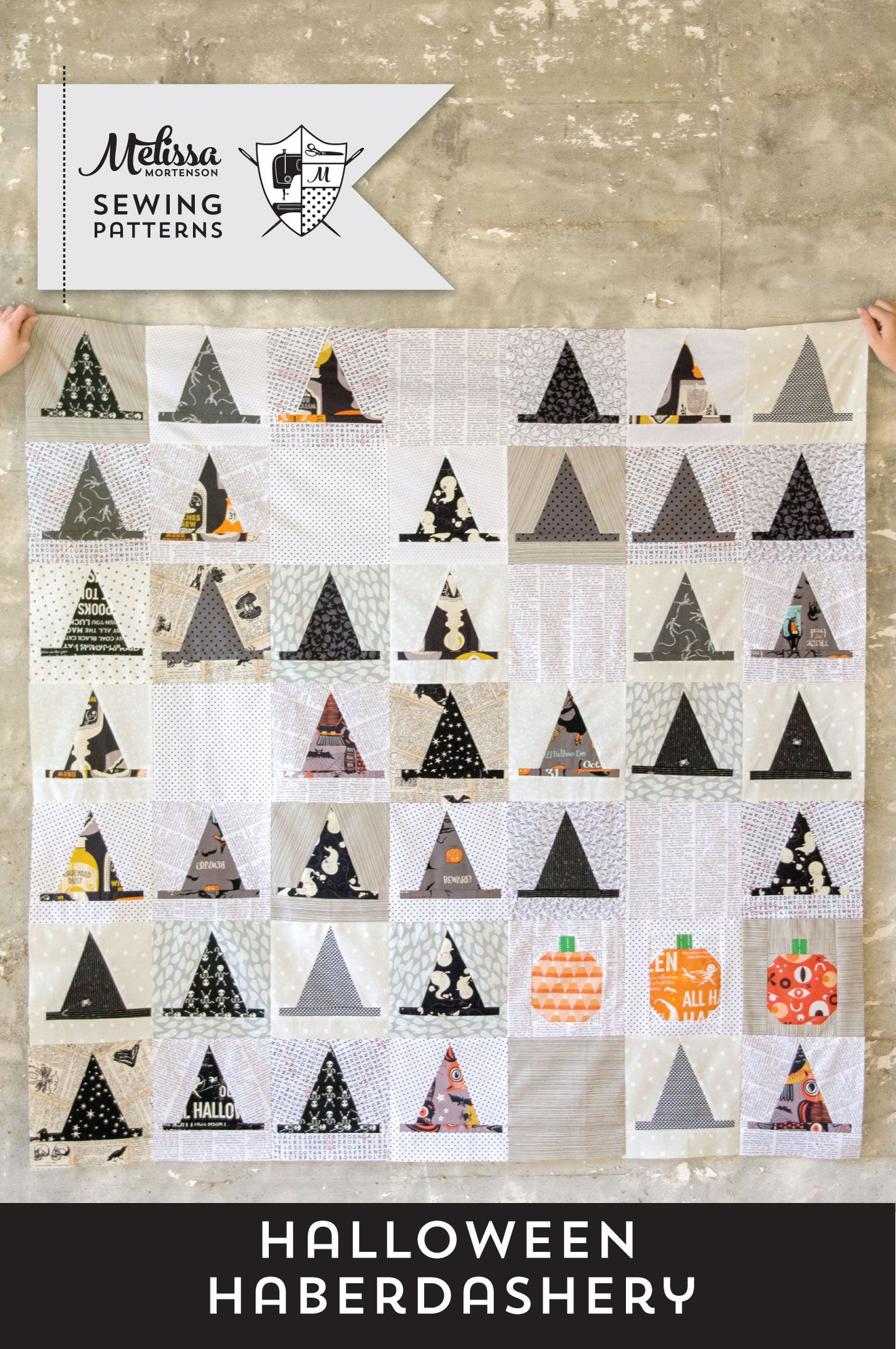 Introducing the Halloween Haberdashery Quilt Pattern | Pinterest ...