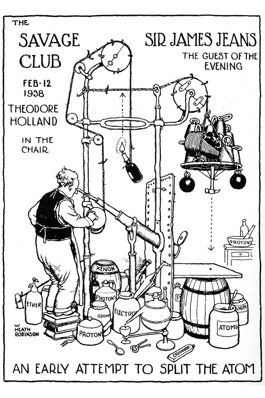 William Heath Robinson museum finally opens this weekend. Who is the ...