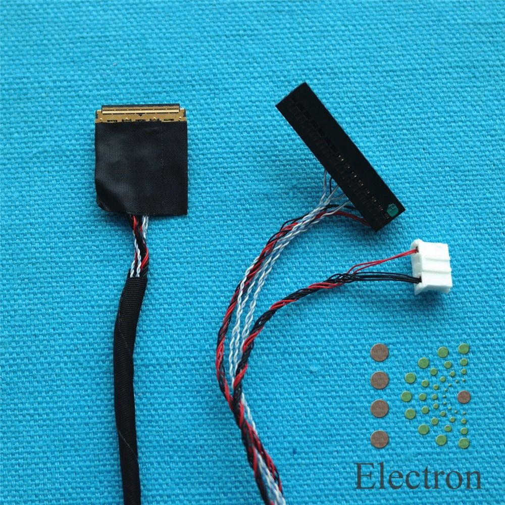 Single 6bit 30 Pins 0.5mm LED LVDS Cable driver board connected wire ...