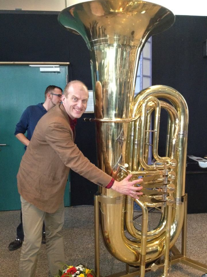 That Is One Amazing Tuba Sub Contra Bass Tuba By The Looks Of It