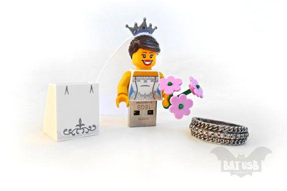 BAT™ 16/32/64GB USB flash drive - Memory Stick - Lego® original ...