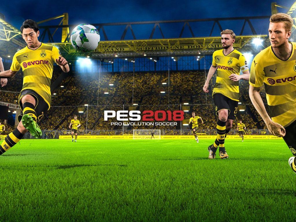 Pro Evolution Soccer 2018 4k Wallpaper Evolution Soccer Pro Evolution Soccer Soccer