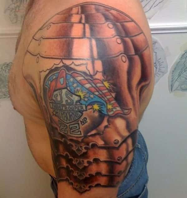 Shoulder Armor Tattoo Ideas - 15 Sensational Collections ...