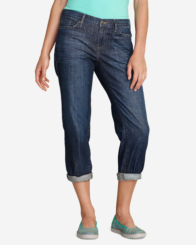 Women's Boyfriend Cropped Jeans Cropped jeans, Eddie
