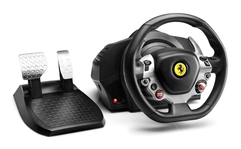 Amazon Com Thrustmaster Tx Racing Wheel Ferrari 458 Italia