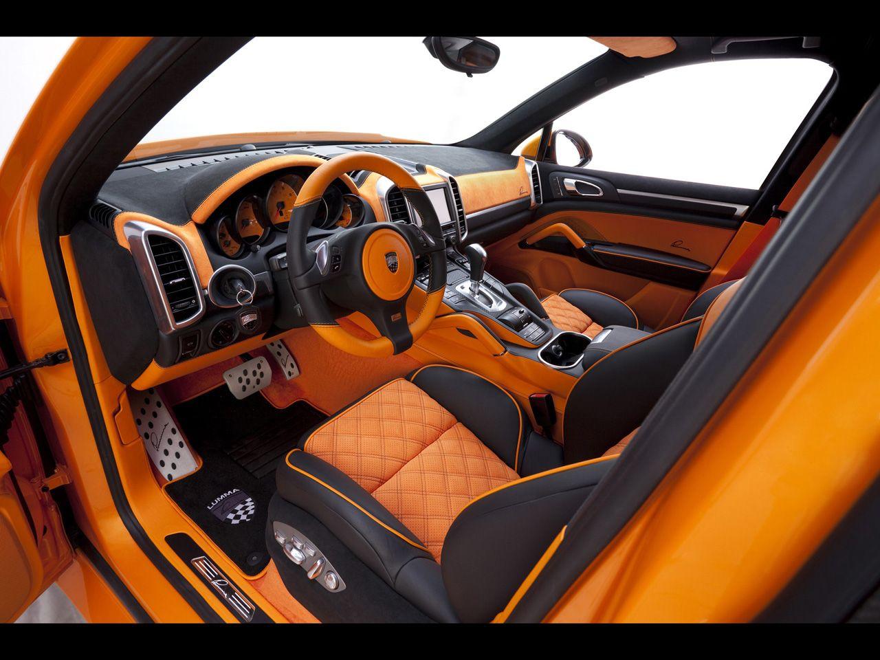 2012 Lumma Design Porsche Cayenne Custom Car Interior Car Interior Custom Cars