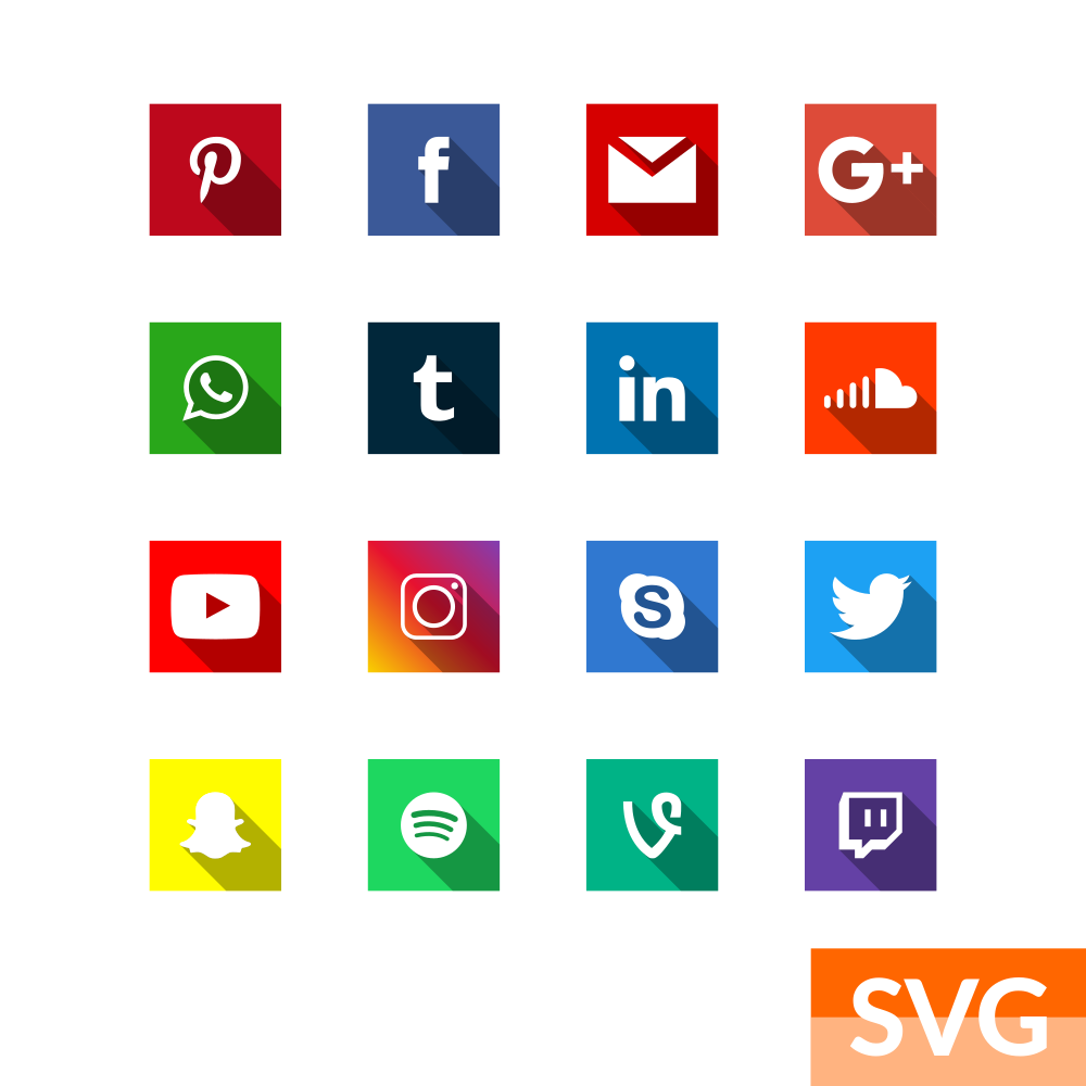 Instagram Pinterest Icons: Pinterest, Facebook, Gmail, Google+, Whatsapp, Tumbler