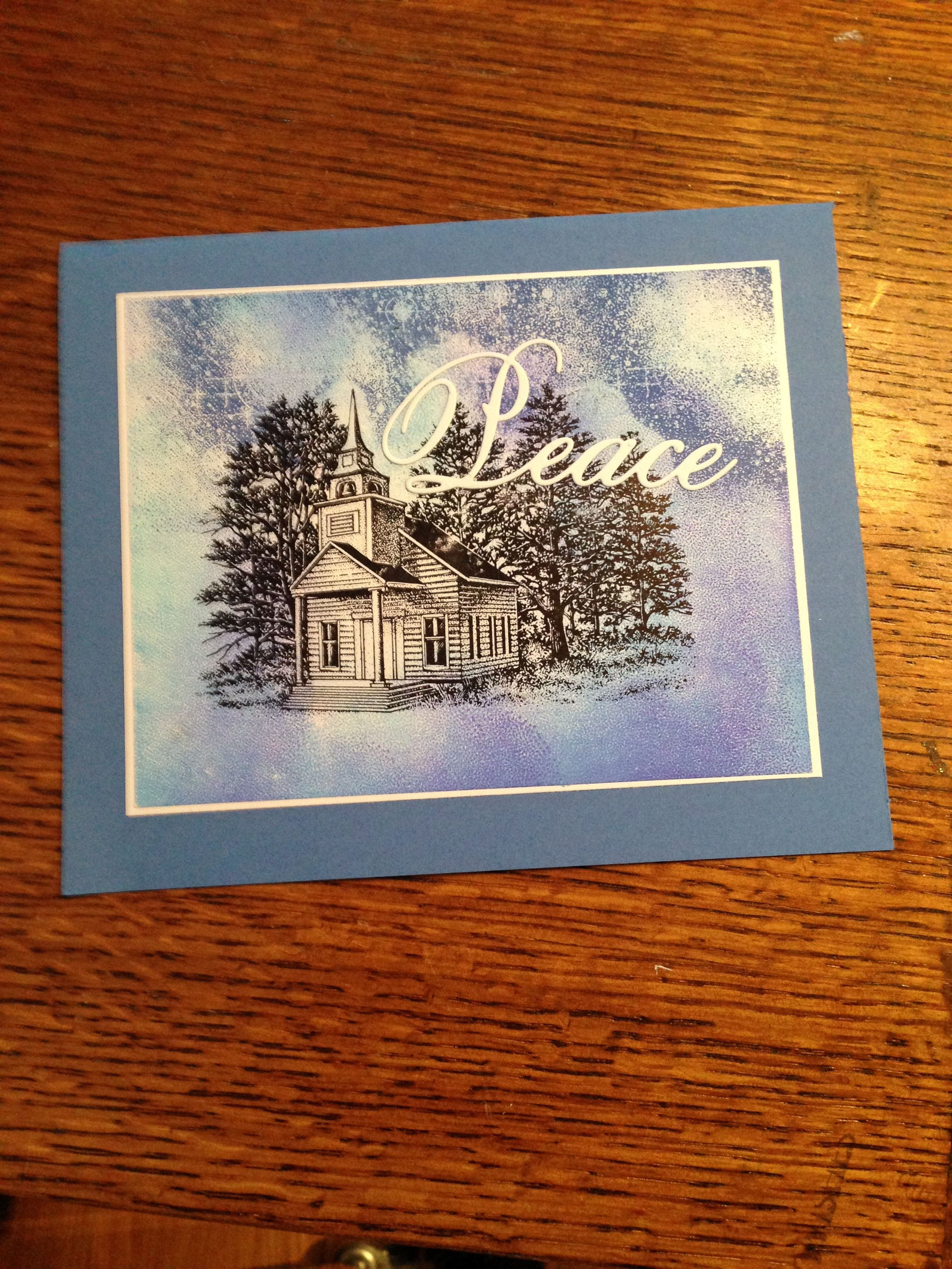 For Elaine 2016 Homemade cards, Stamp design, Christmas