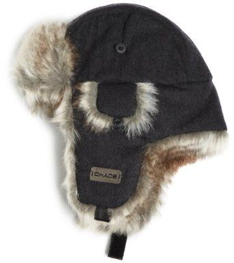 94db9c91e44 Chaos Men s Dylon Wool Blend Trapper Hat (Heather Black