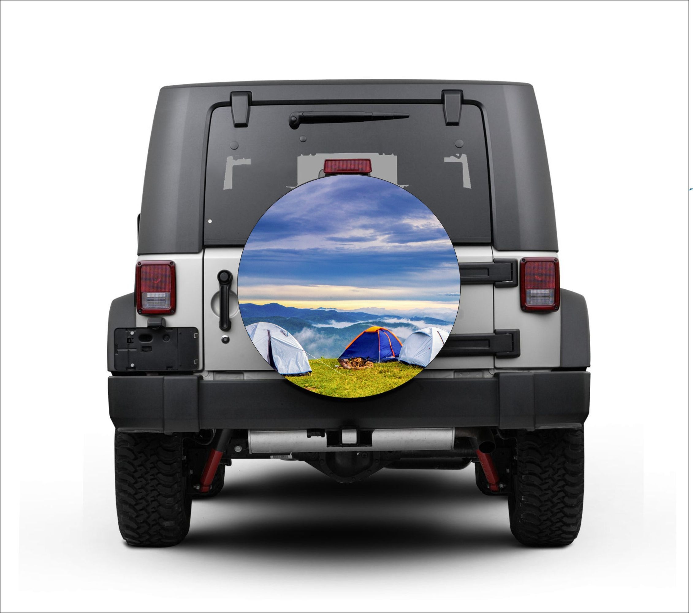 Universal Tire Cover Wheel Cover For Jeep Wrangler Beautiful