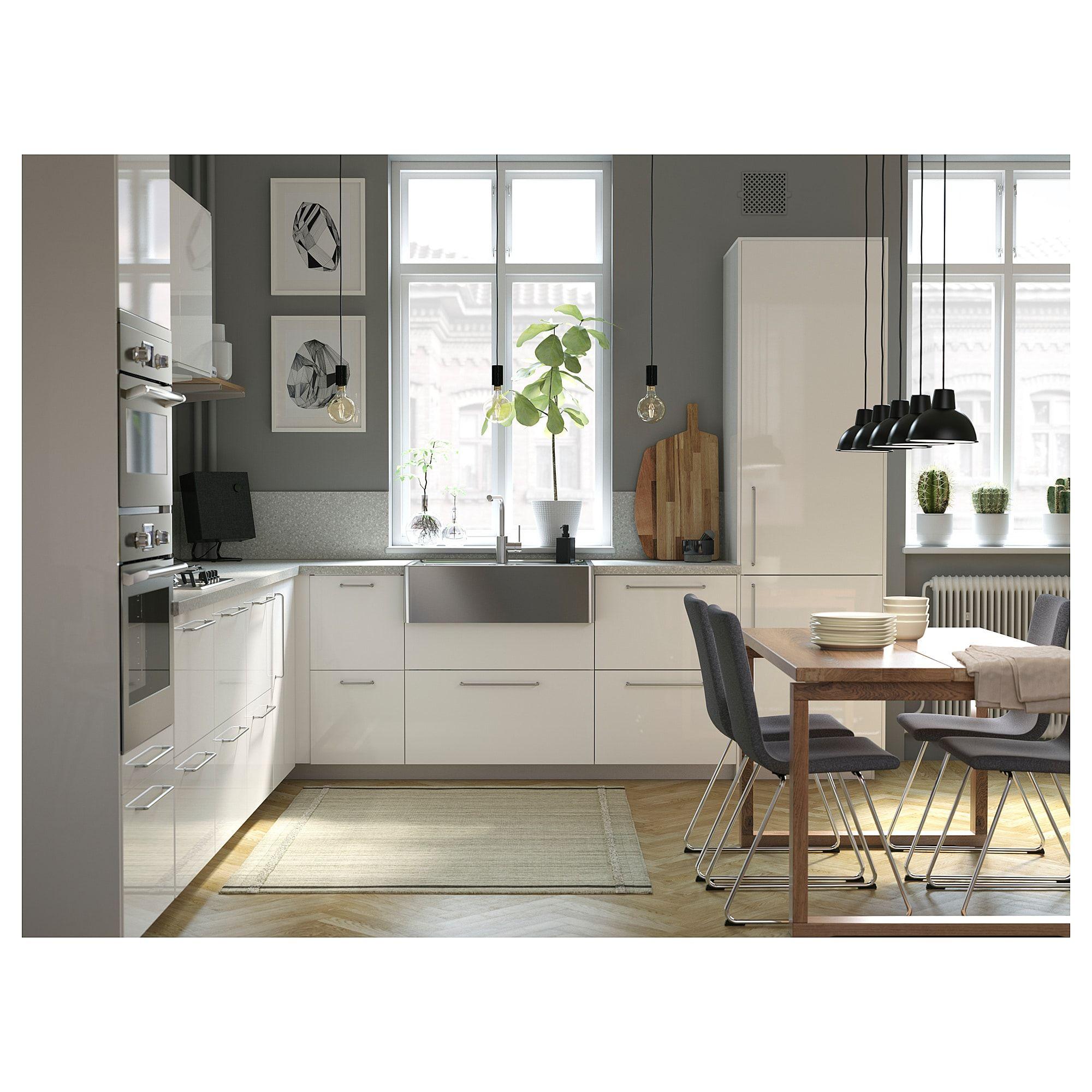 SÄLJAN Countertop light gray mineral effect, laminate