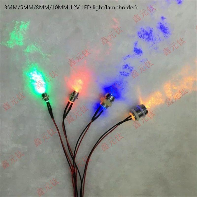Novelty Lighting 10mm 12v Led Lighting Novelty Lighting Beads Plastic Lamp Holder Red Yellow Blue Green White Wa In 2020 12v Led Lights Novelty Lighting Red Yellow