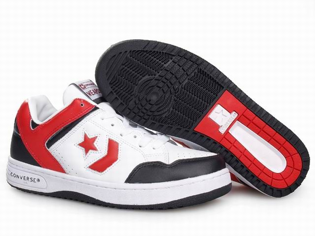 Converse Weapon OX - White red - black