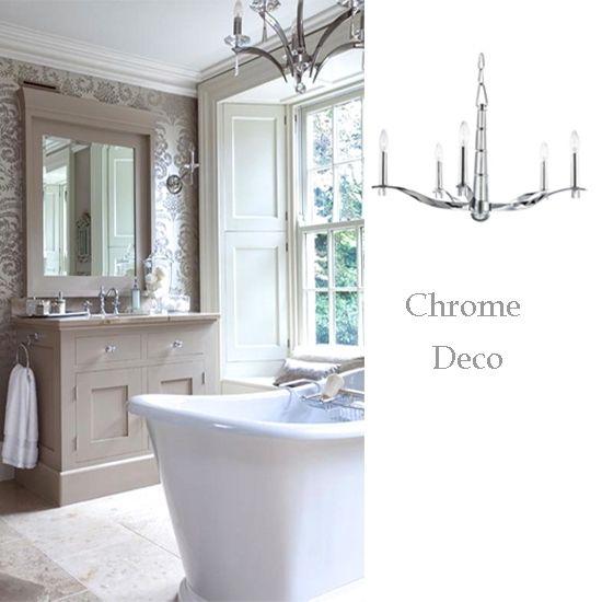 bathroom lighting ideas with crystal chandeliers home bathrooms ...