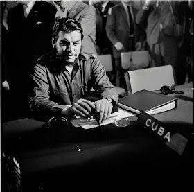 Museu Virtual Comandante Ernesto Che Guevara : Comandante Che Guevara na Conferência da