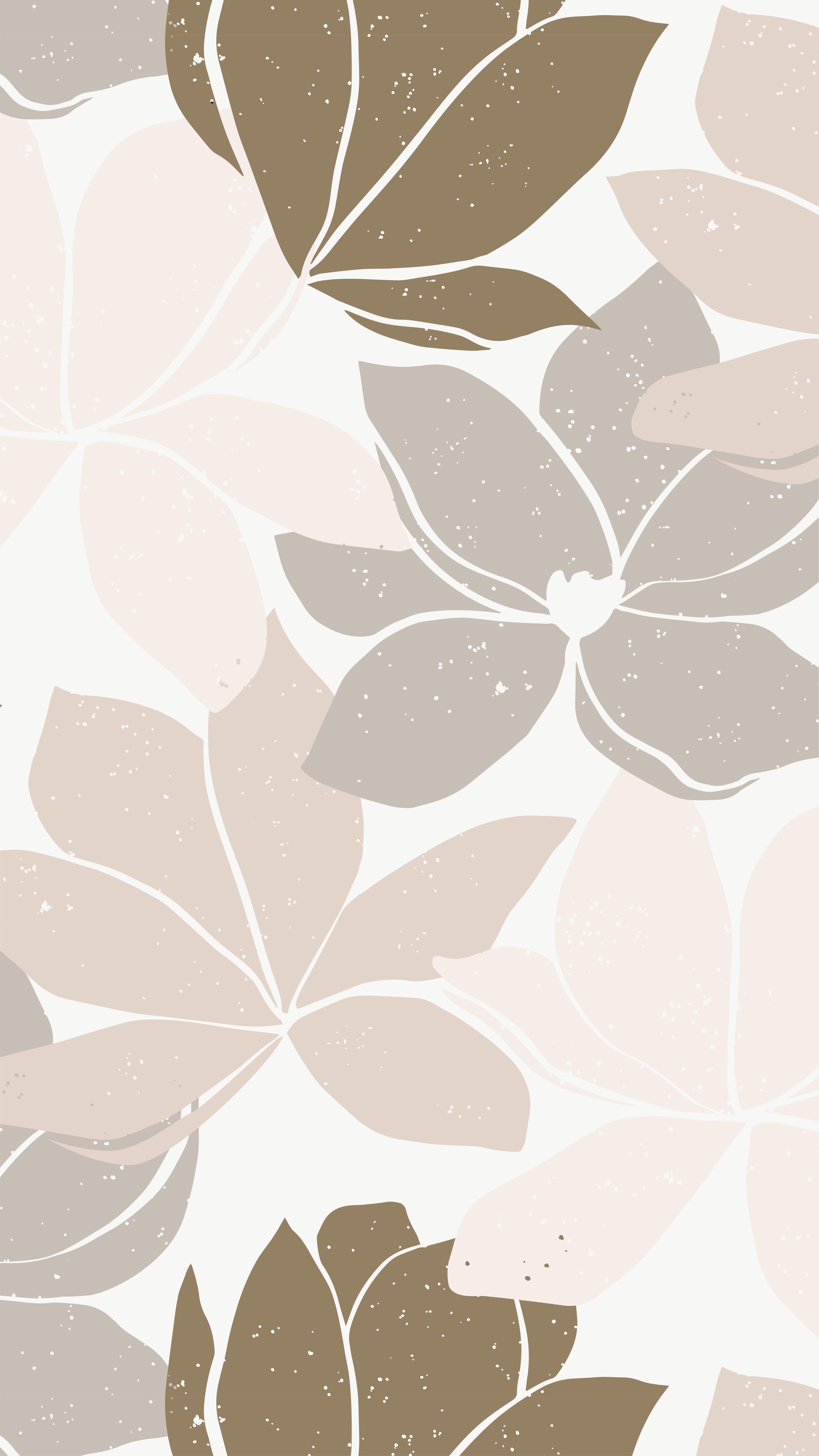 Floral feminine pattern design