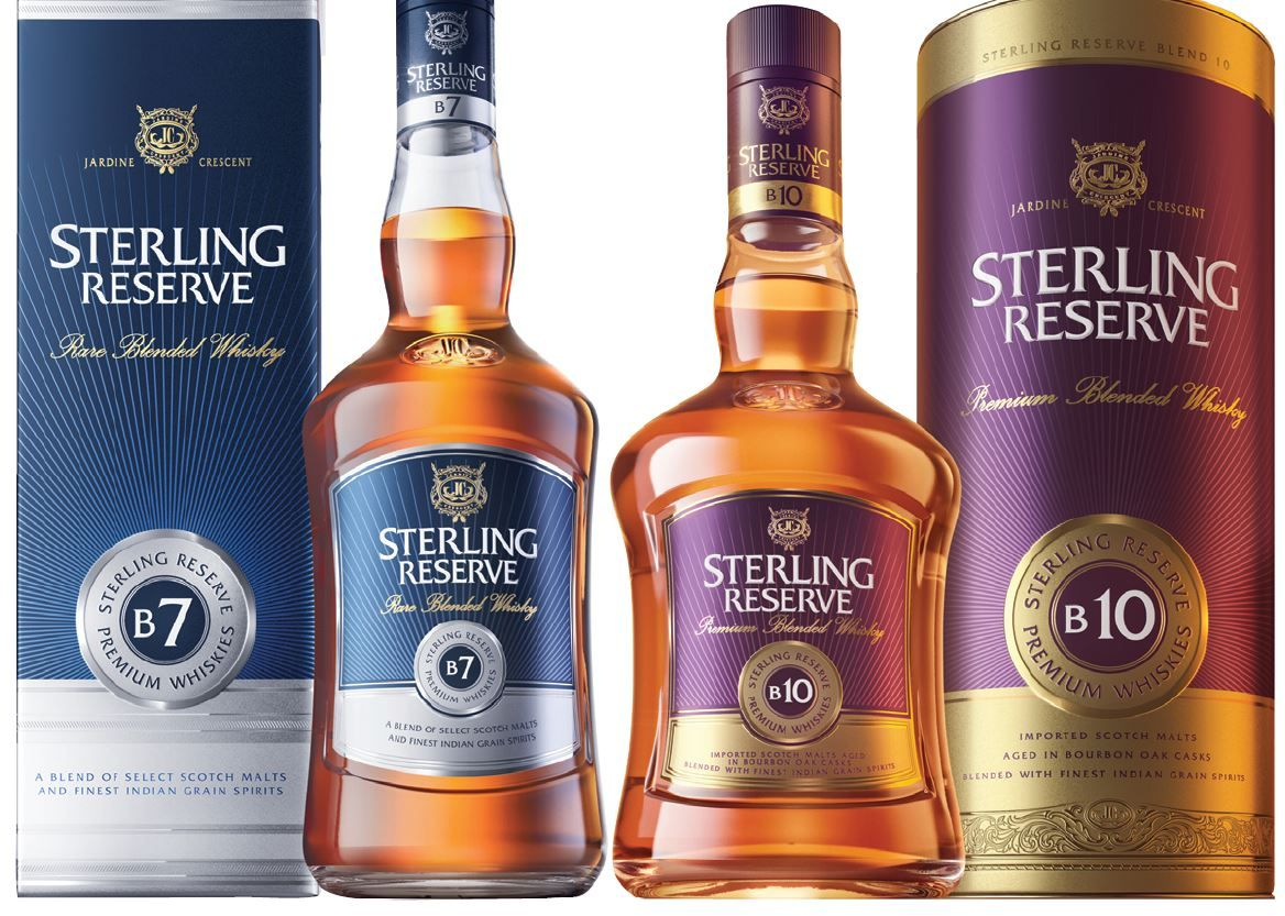 Indian Whisky Brand Champion 2019 Sterling Reserve In 2020 Whisky Malt Whisky Pernod Ricard