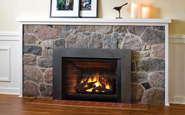 Gas Insert With Images Gas Fireplace Insert Fireplace