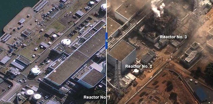 Japan Before And After The Tsunami Japan Tsunami Fukushima