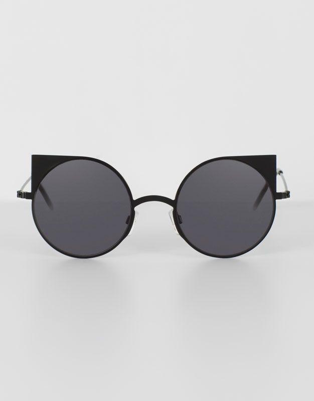 0c4131245e87 BLACK CAT EYE SUNGLASSES | Sunglasses in 2019 | Sunglasses, Cat eye ...