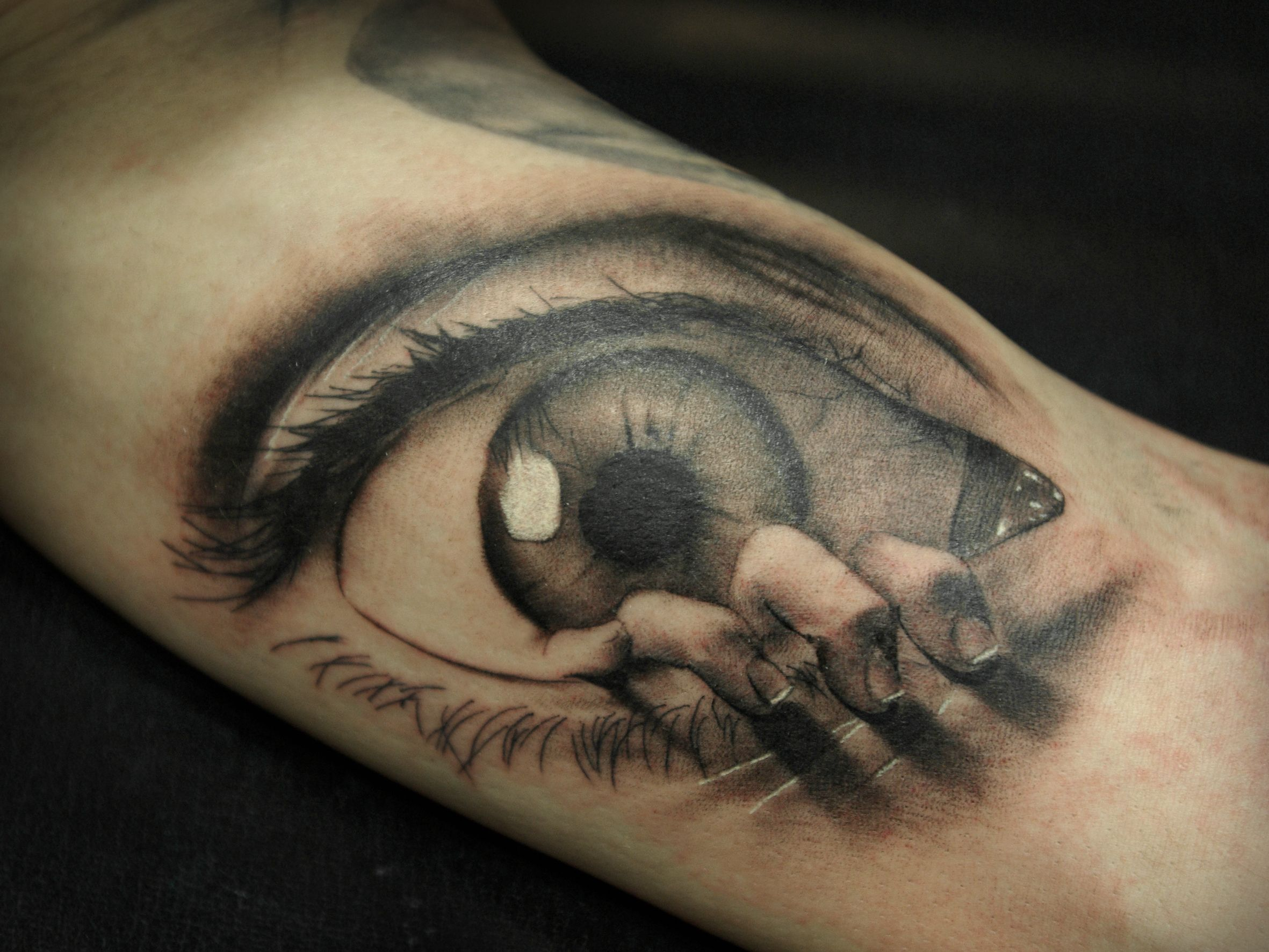 40 ultimate eye tattoo designs image source eyes tattoo eye tattoos tattoostime image source man with eye tattoo on head 50 crazy eye ta
