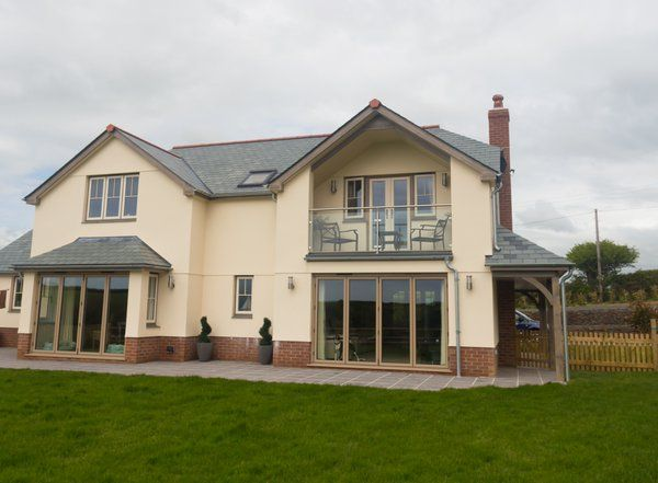 Clotted Cream And Silvered Oak Residence 9 Installation By Prescot Windows And Doors Window Installation House Styles Windows And Doors