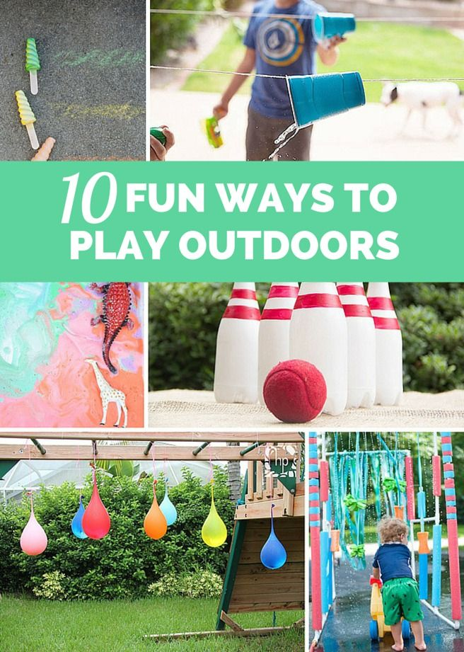 10 Outrageously Fun Ways for Kids to Play Outdoors!