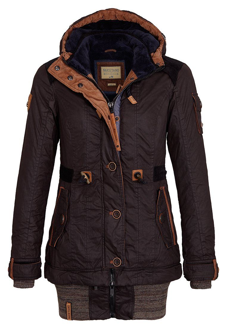 Naketano Women's Jacket Langes Fädchen, Faules Mädchen (L
