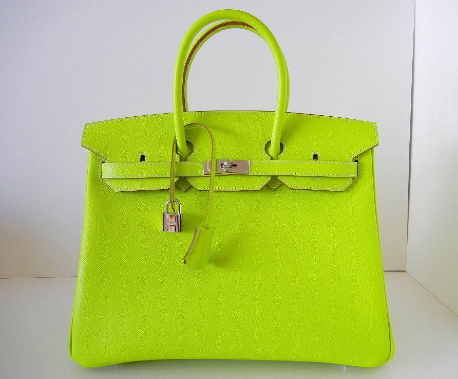 Neon Birkin. Neon Birkin Small Leather Bag 67fdfdc572907