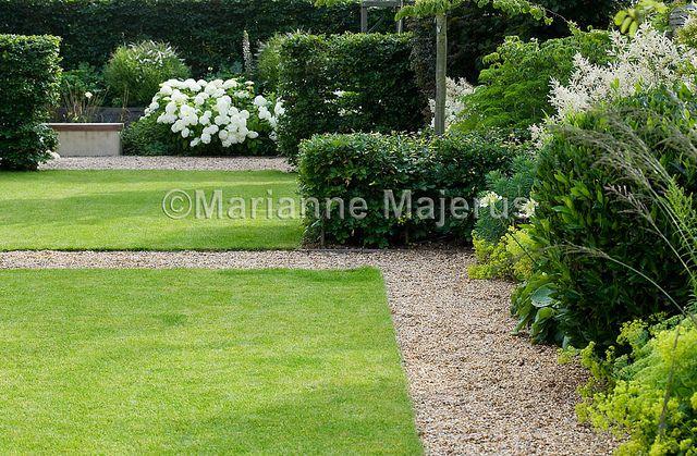Garden Design For Families large family garden | dividing hedges in formal town garden