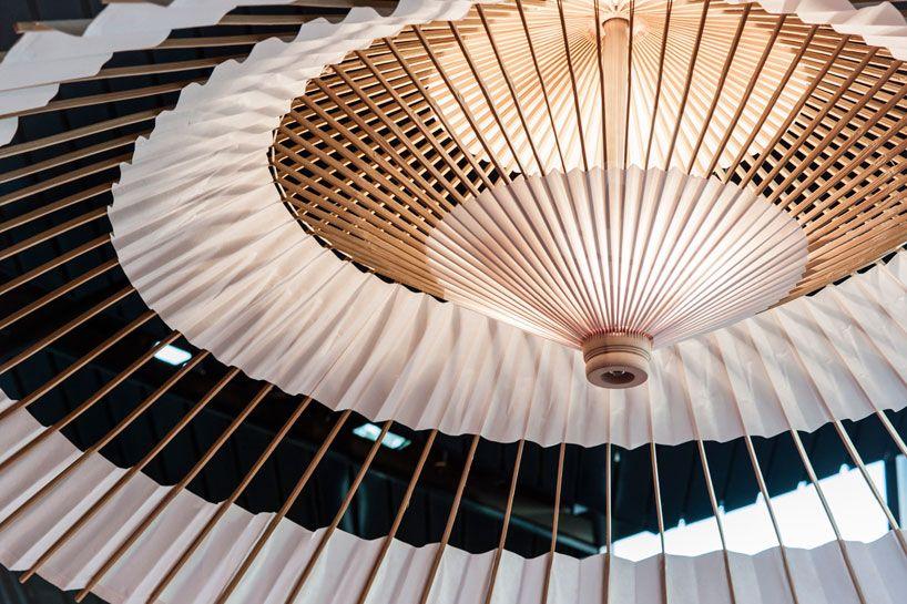 higasa umbrella light | facet studio