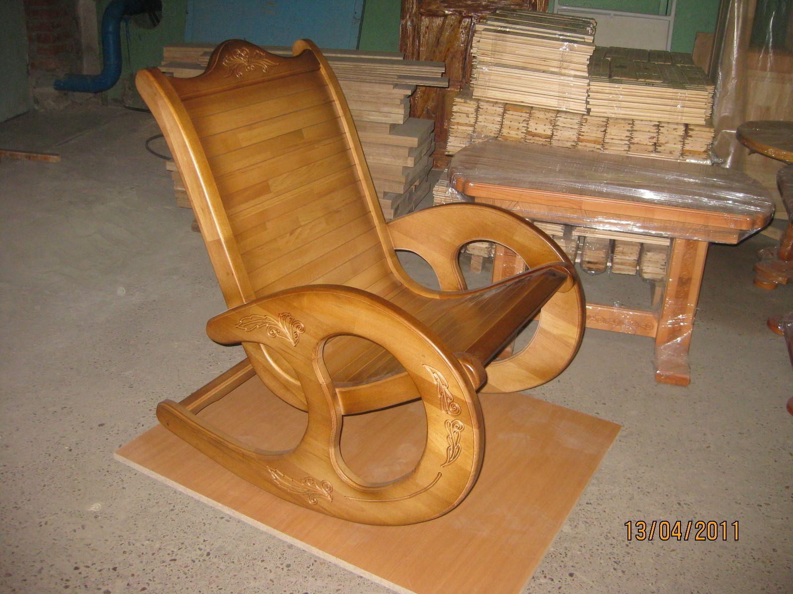 детское кресло качалка своими руками