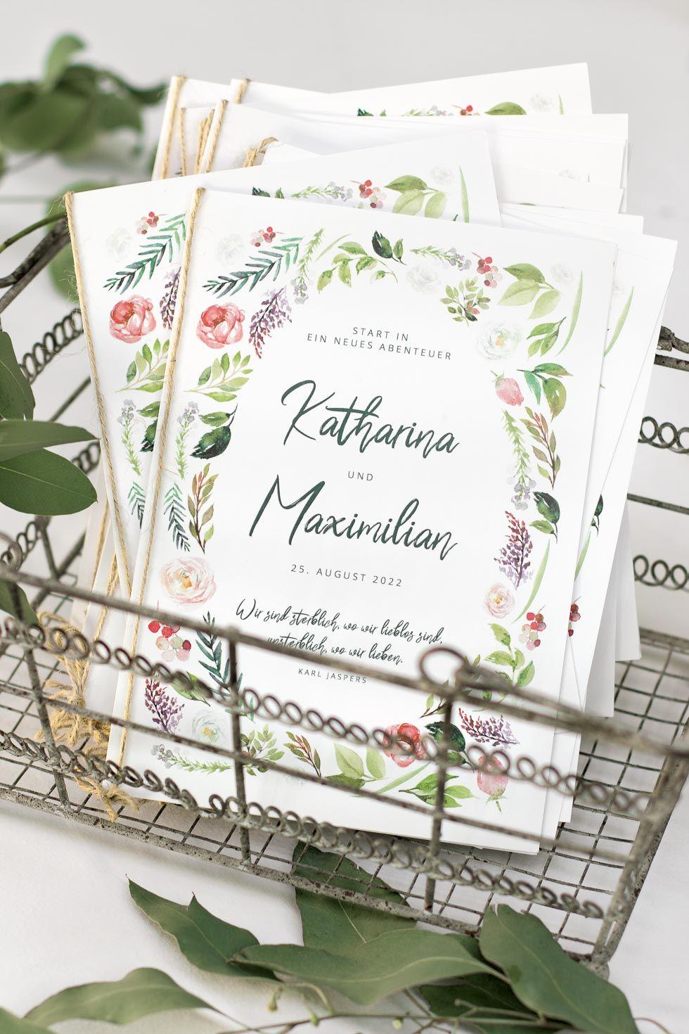 Kirchenheft Hochzeit Gestalten So Wird Es Richtig Schon Kirchenheft Hochzeit Vorlage Kirchenheft Hochzeit Karte Hochzeit
