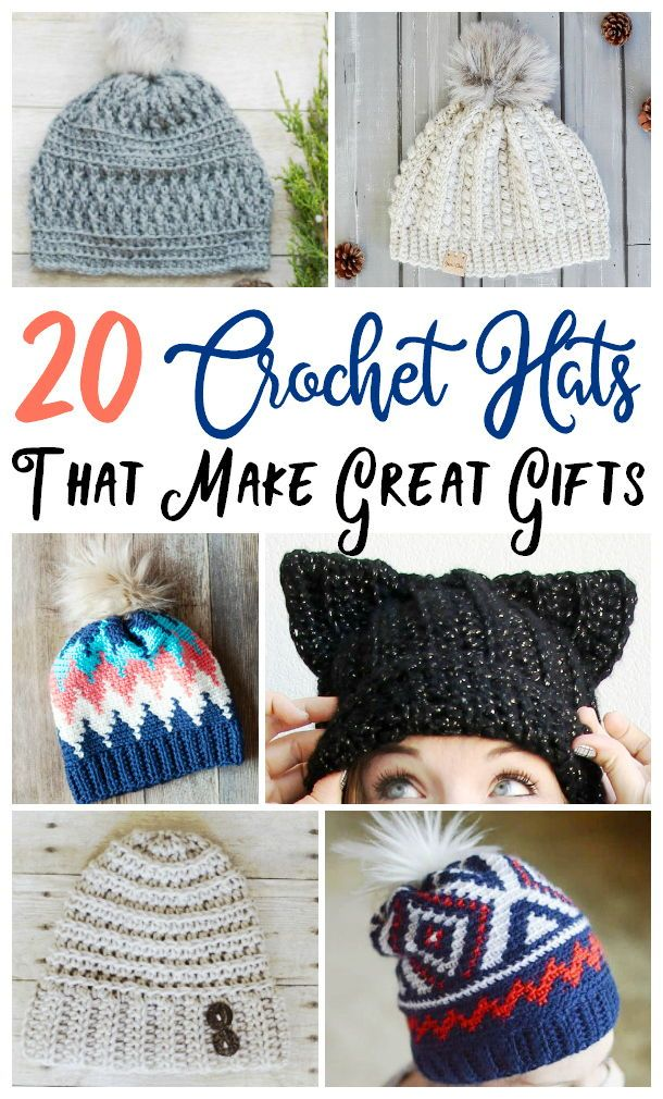 Seeing Dandy Must have for fall and winter fashion These DIY crochet hats are easy to make and perfect to give as gifts