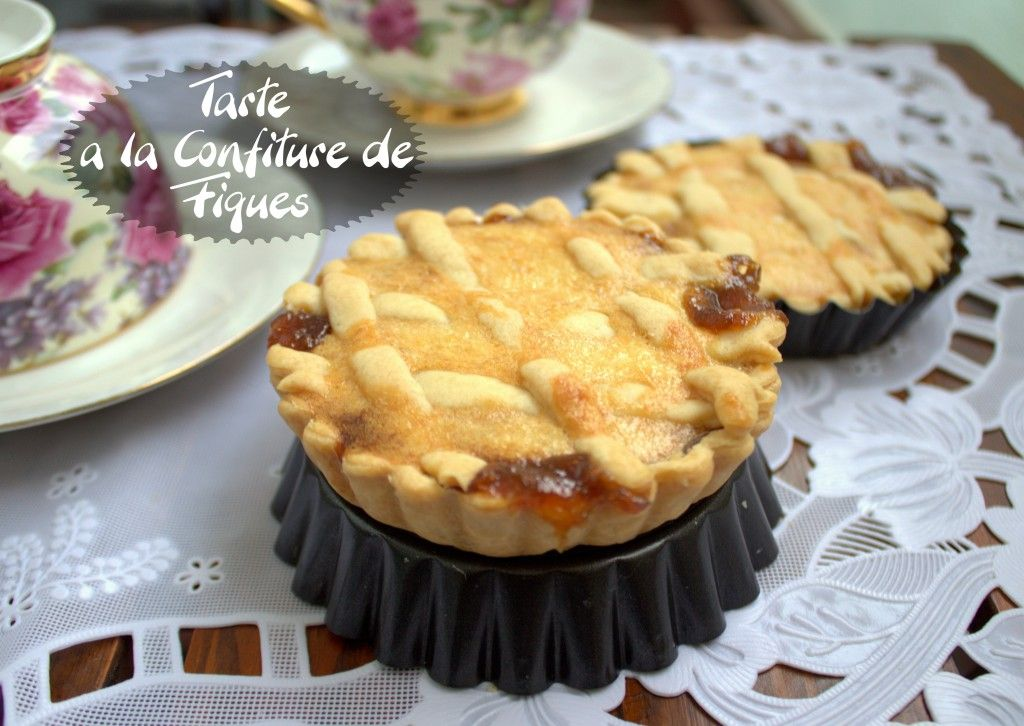 tarte a la confiture de figues / samira tv | recipe | tvs, cuisine