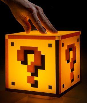 Super Mario Block Light images
