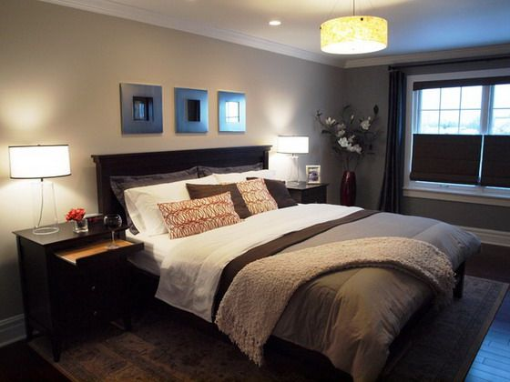 Brown Bedroom Color Schemes brown colors schemes in modern master bedrooms | the humble abode