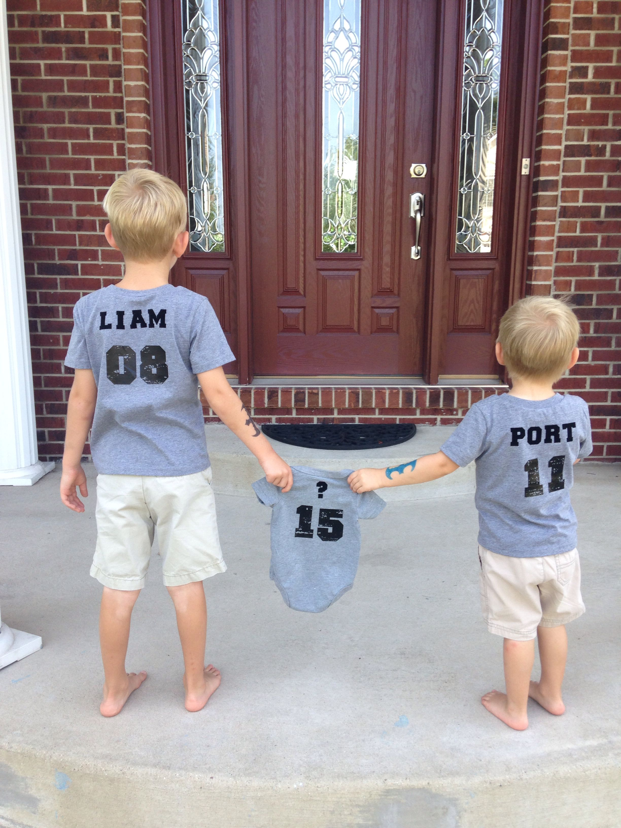3rd baby announcement #3kids