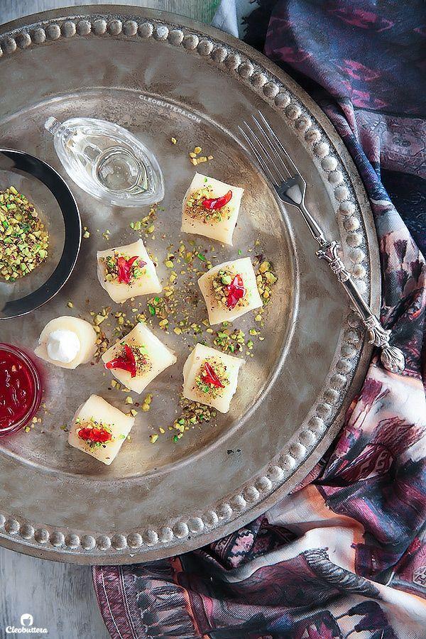 Halawet El Jibn (Sweet Cheese Rolls) | Recipe | Middle ...