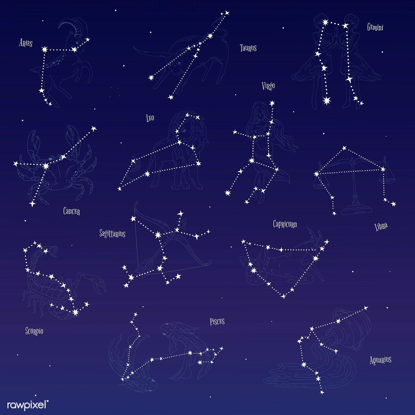 фотоальбом картинки с созвездиями знаками зодиака красиво будет сделать