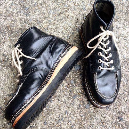 SAVOIA 001:Red wing BUHI Custom shoes