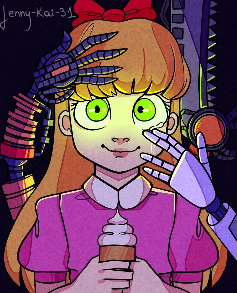 Elizabeth Afton By Jenny Kai 31 Fnaf Drawings Fnaf Anime Fnaf
