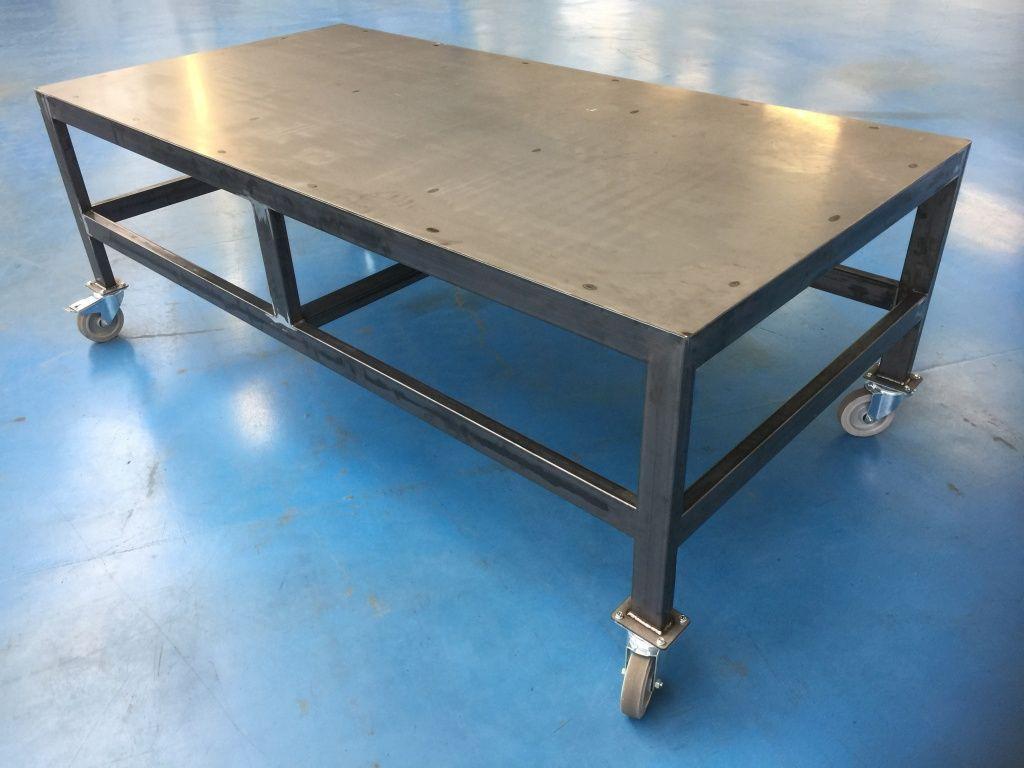Tables industrielle sur mesure quelque soit vos envies for Anatomie du meuble