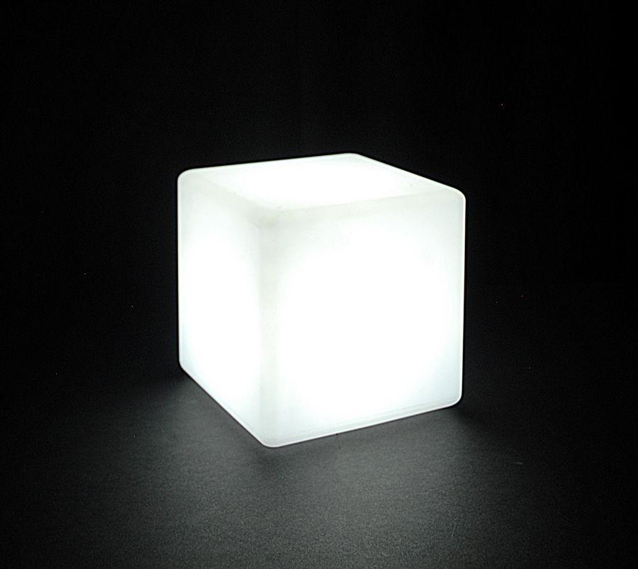 Cordless Led Light Cube 8in Designsource Lighting