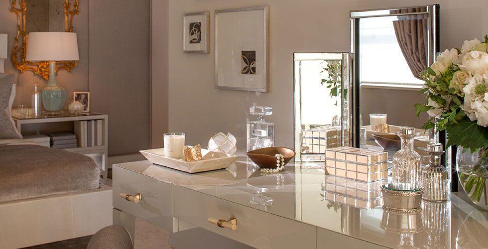Luxe dressing table Maison Kiss Kiss London