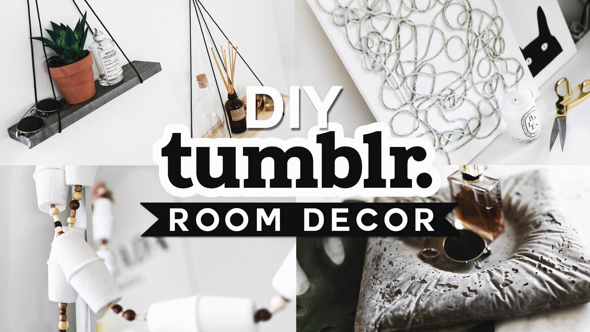 DIY Tumblr Inspired Room Decor 2016