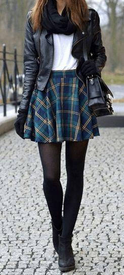 26 tenues d'hiver Streetsyle les plus mignonnes avec jupe – Robes – #Robes #mit #Out …