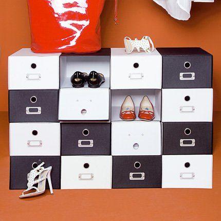 ranger ses chaussures nos 5 exemples diy deco meubles. Black Bedroom Furniture Sets. Home Design Ideas