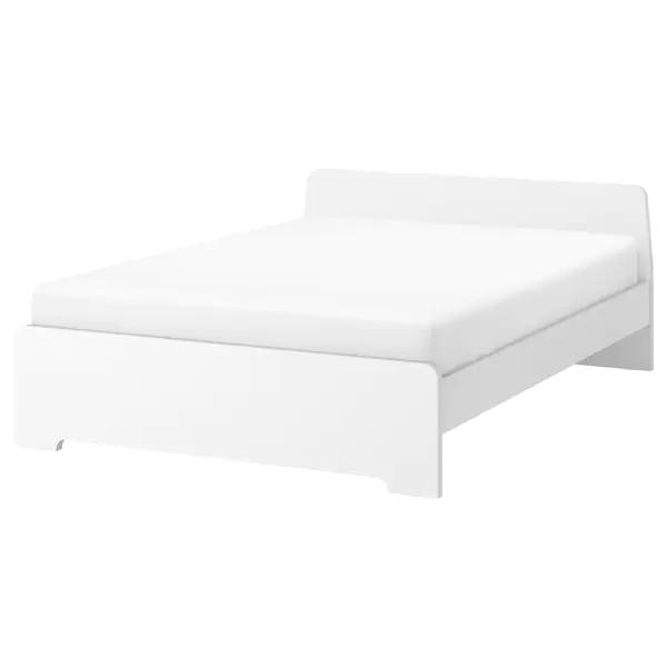 Askvoll Bedframe Wit 140x200 Cm Ikea Nr 367 In 2020 Bettgestell Verstellbare Betten Bettgrossen