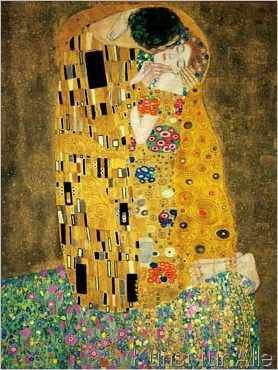 gustav klimt der ku kunstdrucke poster pinterest gustav klimt der kuss klimt der. Black Bedroom Furniture Sets. Home Design Ideas